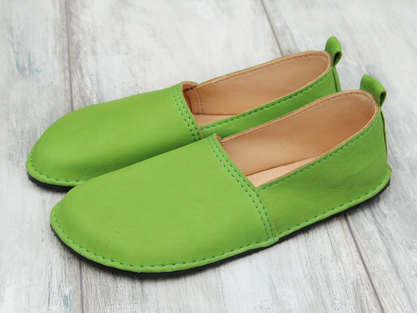 barefoot moccasins